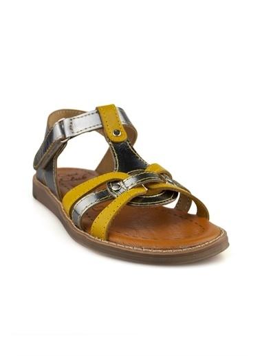 Cicibebe Kız Çocuk Sandalet Gümüş